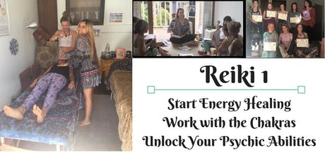 Reiki 1 - Course & Attunement  tickets