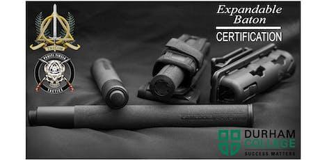 Expandable Baton Certification Course tickets