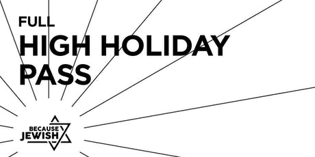 Full High Holidays Pass 2019 tickets