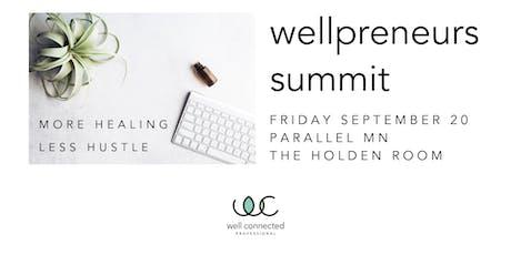 Wellpreneurs Summit tickets