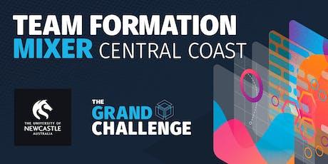 Grand Challenge Team Formation Mixer - Central Coast tickets