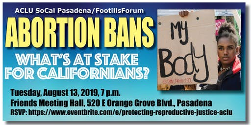 Abortion Bans: What's at Stake for Californians