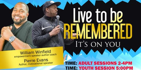 Live To Be Remembered tickets