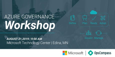 Azure Governance Workshop - Minneapolis, MN tickets