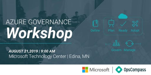 Azure Governance Workshop - Minneapolis, MN
