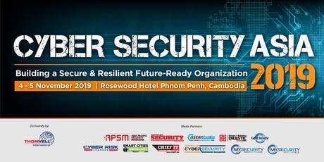 Cyber Security Asia 2019 - Top Cyber Security Influencers  tickets