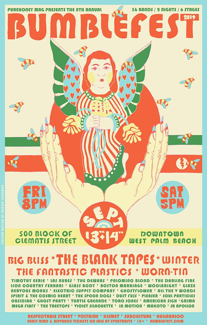 BUMBLEFEST '19: THE BLANK TAPES, WINTER, WORN-TIN, BIG BLISS + 36 MORE! image