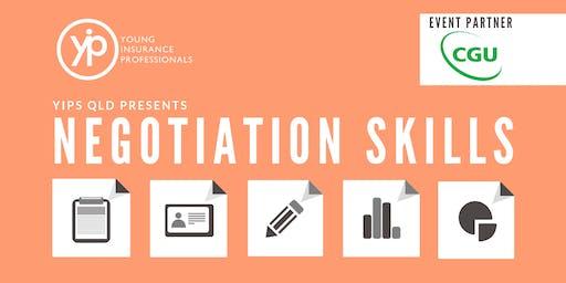 YIPs QLD Presents: Negotiation Skills Workshop