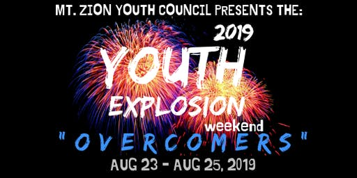 "2019 Youth Explosion Weekend  ""Overcomers"""