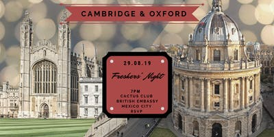 Cambridge & Oxford Freshers' Night