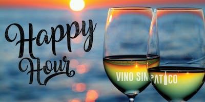 HAPPY HOUR @ VINO SIMPATICO