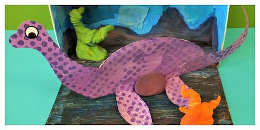 Date Night- 3D Dino World Pajama Party (3-9 Years)