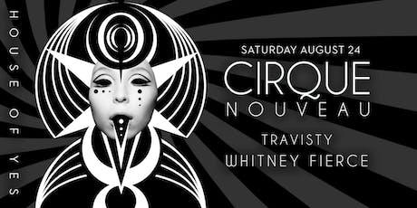 Cirque Nouveau tickets