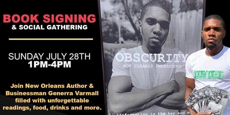 Obscurity Brand - Book Signing & Gathering tickets