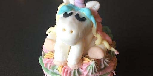 Unicorns! Cupcake Decorating Class