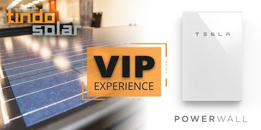 Tindo Solar and Tesla VIP Experience