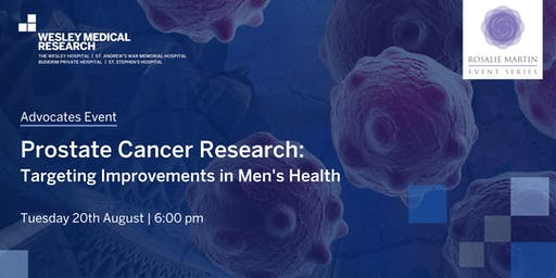 ADVOCATES - Prostate Cancer Research: Targeting Improvements in Men's Health