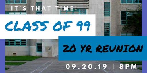 Lamar High School 20 Year Reunion Weekend!
