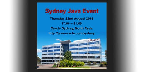 Sydney Java Event tickets