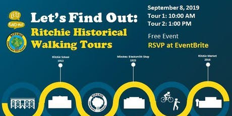 Ritchie Historical Walking Tours tickets