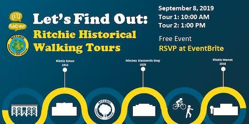 Ritchie Historical Walking Tours
