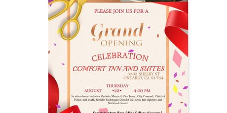 Comfort Inn and Suites Hotel Grand Opening 2019 tickets