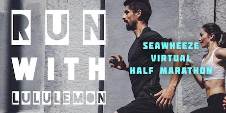 run with lululemon - 5K / 10K / Half Marathon tickets