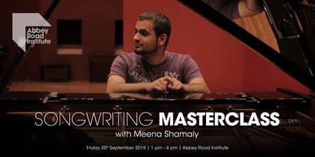 Meena Shamaly Masterclass - Storytelling Through Songwriting tickets