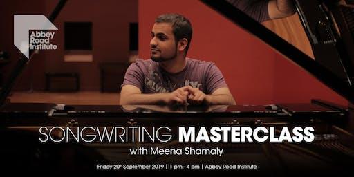 Meena Shamaly Masterclass - Storytelling Through Songwriting
