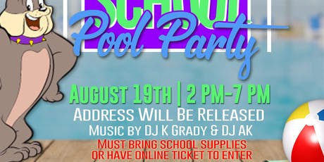 BACK TO SCHOOL POOL PARTY : SUNS OUT BUNS OUT tickets
