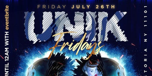 "UNIK Fridays at FUSION LOUNGE ""Ladies Drink FREE til Midnight"""