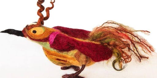 Whimsical 3D Felted Birds: Saturday Oct 19,2:30-6pm