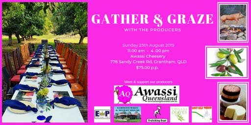 Gather & Graze with the producers
