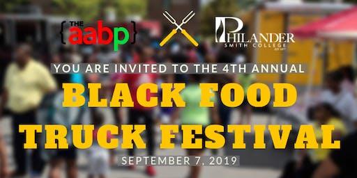 2019 Black Food Truck Festival - Vendor & Sponsor Registration