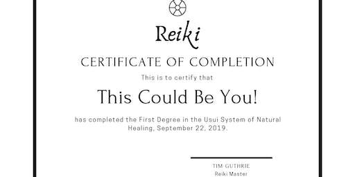 Phusion Living's Level 1 Reiki Course