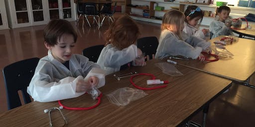 Free Little Medical School: What's in the doctor's bag (4-7 years old), in Orleans