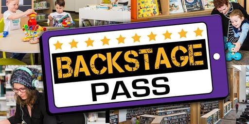 Backstage Pass - Redcliffe Library & Gallery