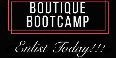 Boutique Bootcamp 101 tickets