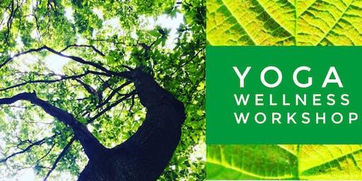 Yoga Wellness Workshop - Creating Space Releasing Tension