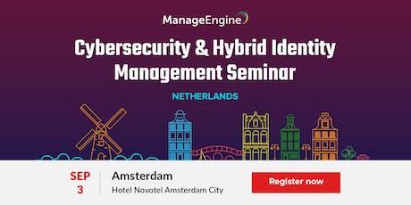 Cybersecurity & Hybrid Identity Management Seminar- Netherlands 2019 tickets