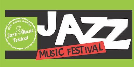 West Adams Jazz & Music Festival tickets