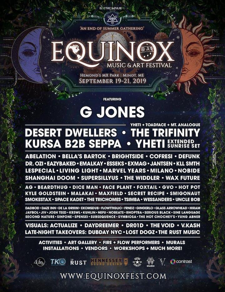 Equinox Music & Art Festival 2019 Tickets, Fri, Sep 20, 2019