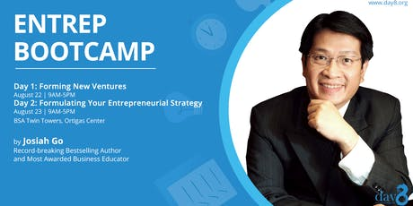 ENTREP BOOTCAMP (Day 1): Forming New Ventures tickets