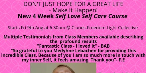 Self Love/ Self Care 4 Week Course in Clunes
