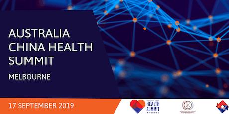 ACBC Vic: Australia China Health Summit tickets