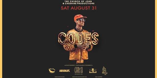 CODES - Edmonton Sat Aug 31