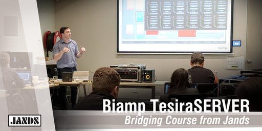 Biamp TesiraSERVER Bridging Course (Adelaide)