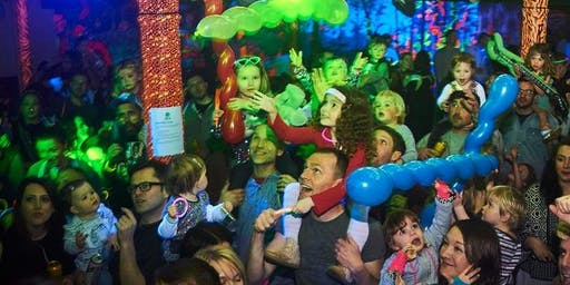 Big Fish Little Fish Family Rave Lincoln, Pirates and Mermaids with Junglist Alliance