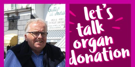 DonateLife Week - Stewart's Story - Morning Tea @ Kingston Library tickets