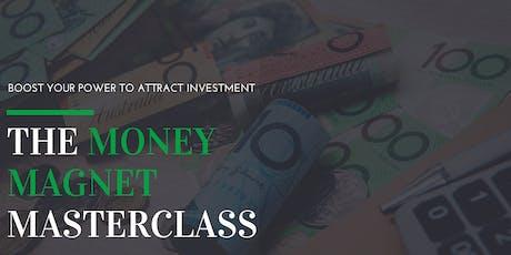 Innovate Queensland's Money Magnet Masterclass — Sunshine Coast tickets